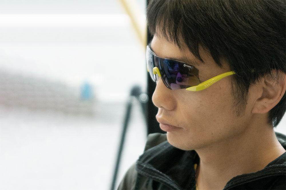 「3本のサングラスを1組のレンズで使いまわせていてとても便利」